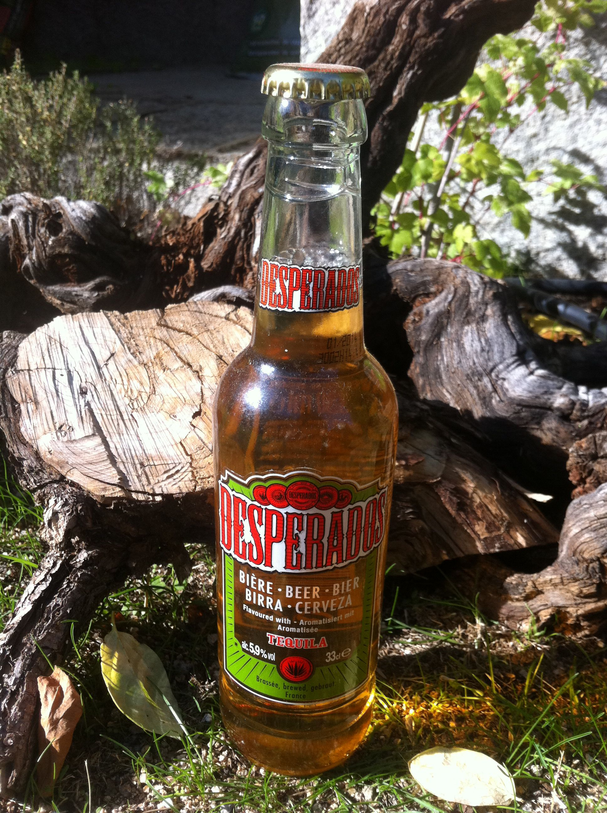Desperados Cerveza Con Tequila Beer Tequila Beer Bottle