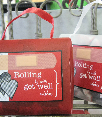Rolling by with get well wishes!