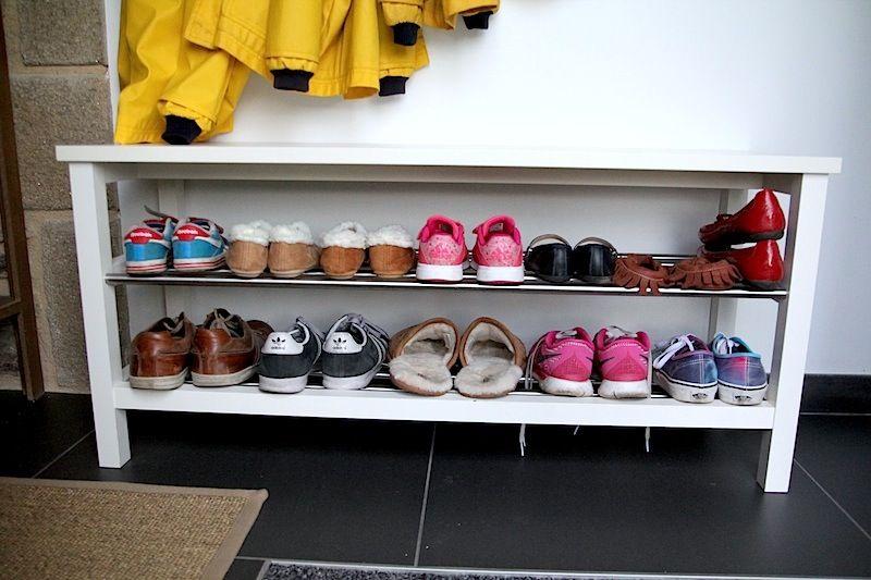 La Renovation L Entree Armoire De Toilette Ikea Banc A Chaussures Ikea Meuble Wc