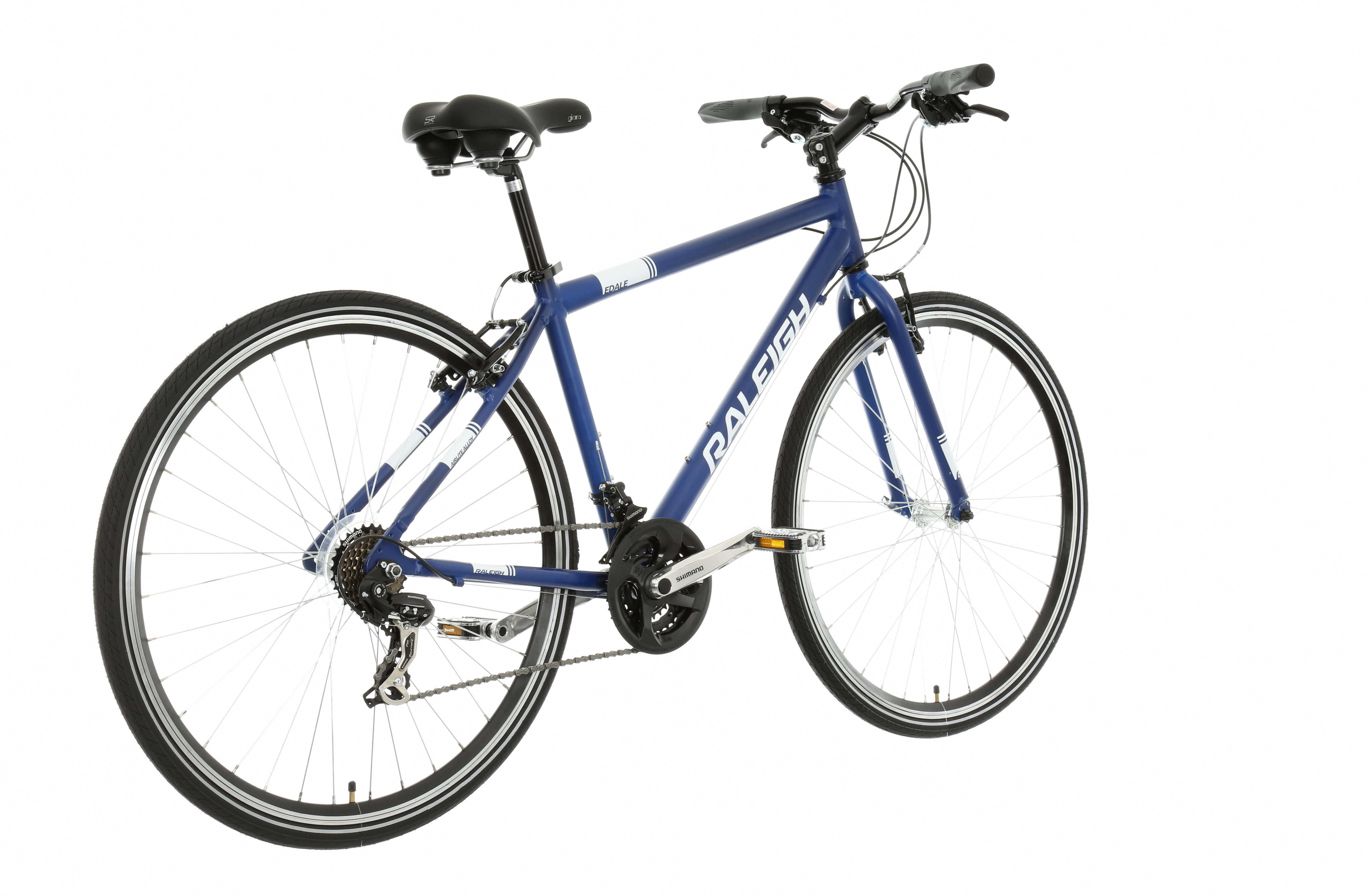 Raleigh Edale Mens Hybrid Bike Hybridbike Hybrid Bike Bike