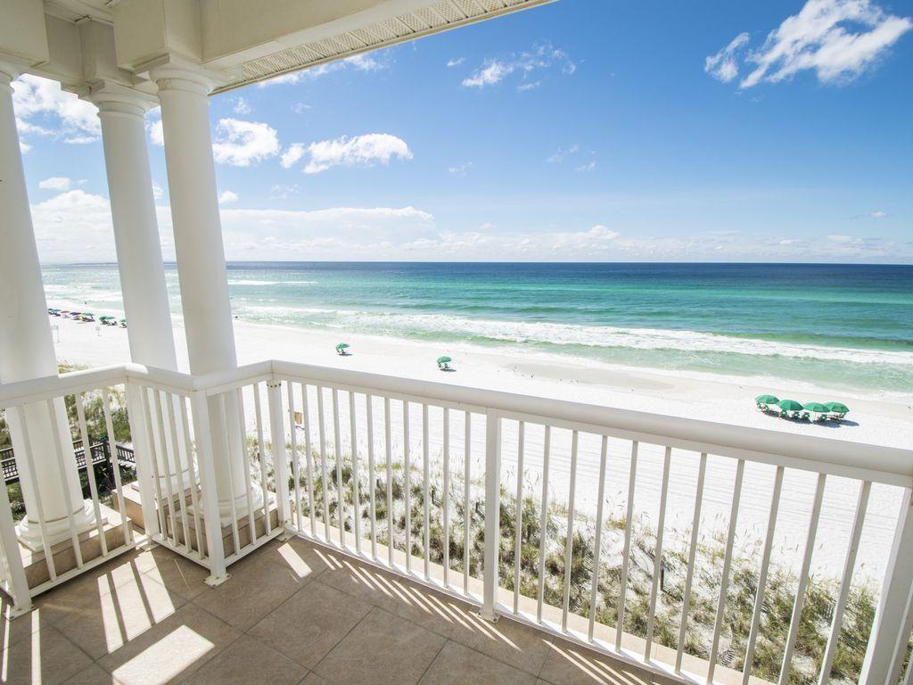 Saler Shores Private Beach Elevator Game Room Pool Best Views Miramar Beach Vacation Home Rentals Miramar Beach Beach Rentals