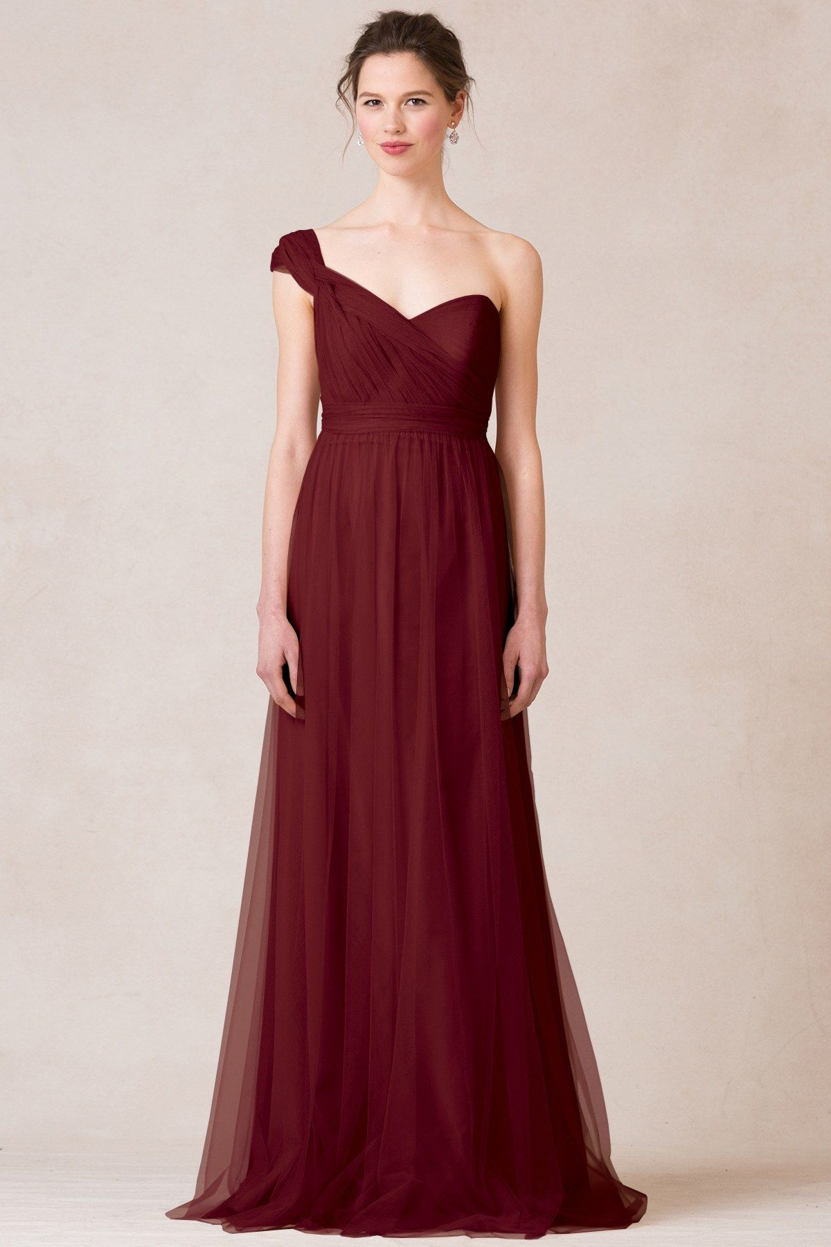 7 red bridesmaid dresses that are just perfect for a valentines annabelle convertible bridesmaid dress flattering fit for all shapes and sizes ombrellifo Choice Image