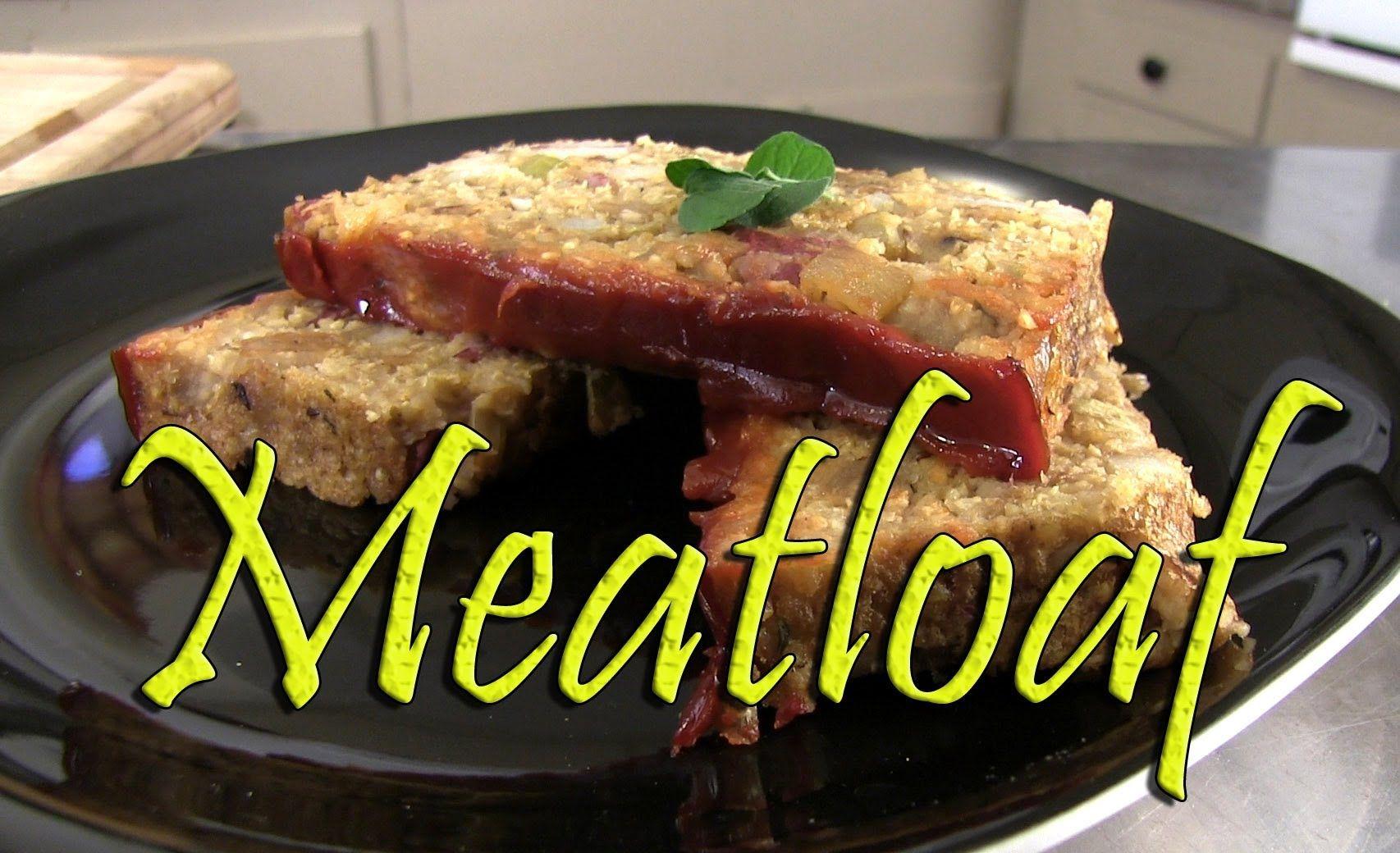Alton Brown Makes His Good Eats Meatloaf Food Network Youtube Food Network Recipes Meatloaf Recipes Food Network Best Easy Meatloaf Recipe