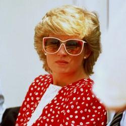 Diana keeping cool