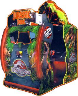 Jurassic Park Environmental Video Arcade Game | From Raw Thrills ...