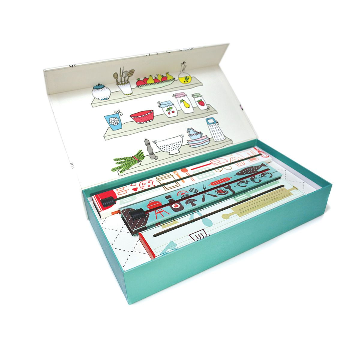 ChicWrap - Kitchen Tools Gift Box Set, $49.99 (http://www.chicwrap ...
