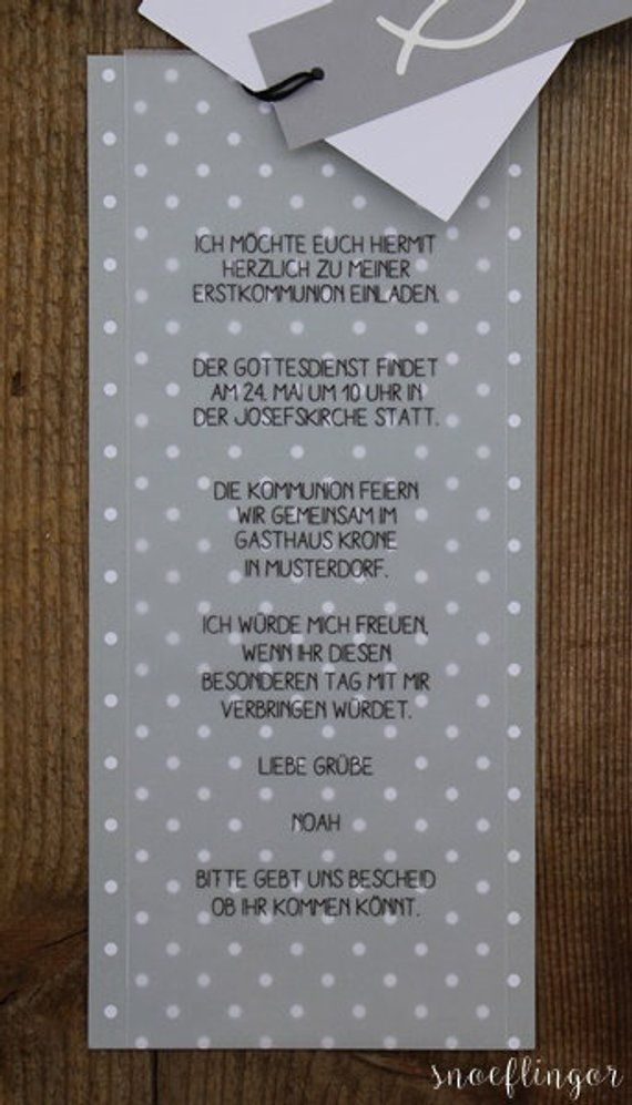 Photo of Invitation Card communion Confirmation wedding