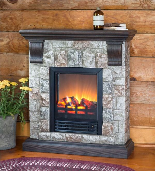 statuette of stone electric fireplace for modern rustic home designs rh pinterest com faux stone electric fireplace tv console faux stone electric fireplace mantel