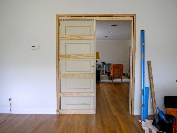 How To Build A Pocket Door C R A F T Pocket Door Frame Pocket Door Installation Pocket Doors Bathroom