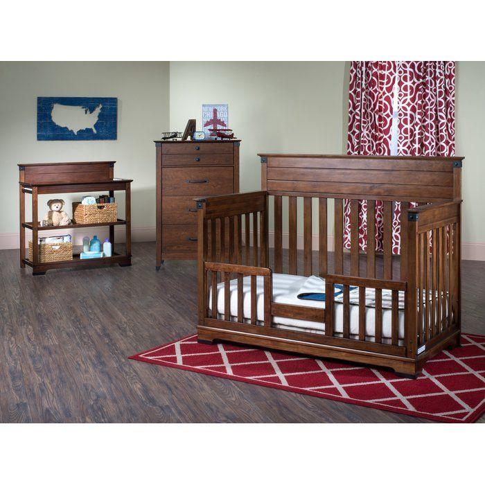 Redmond Changing Table With Pad Reviews Birch Lane Nursery Furniture Sets Convertible Crib Diy Toddler Bed