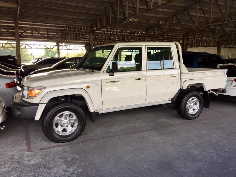 Ready Unit Imported Full Tax Paid 2017 Toyota Land Cruiser Lc79