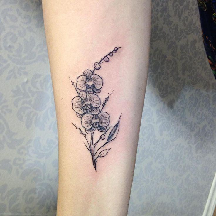 Pin by Samantha Lepak on Tattoos Orchid tattoo, Small