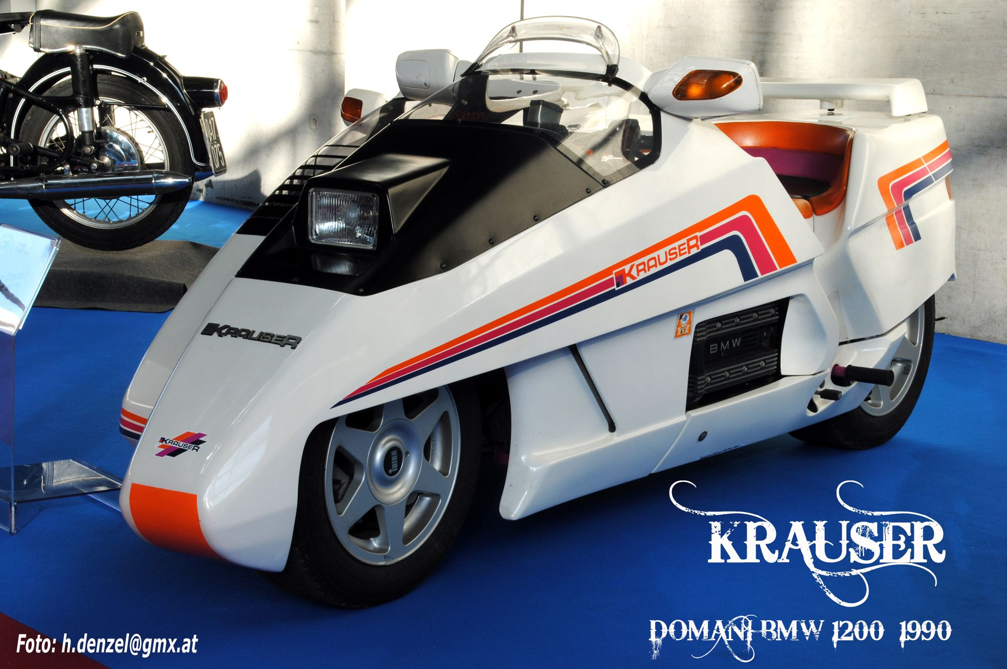 For Sale 65 Corsa Convertible Rolling Chassis California: Krauser Domani BMW 1200 1990
