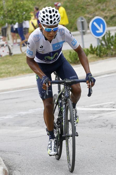 TDF2015 stage 19 Nairo Quintana (Movistar) (Bettini Photo)