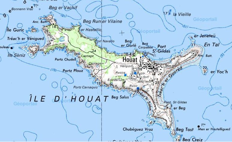ile de houat carte ile d'houat map   Google Search | Ile d houat, Belle ile en mer