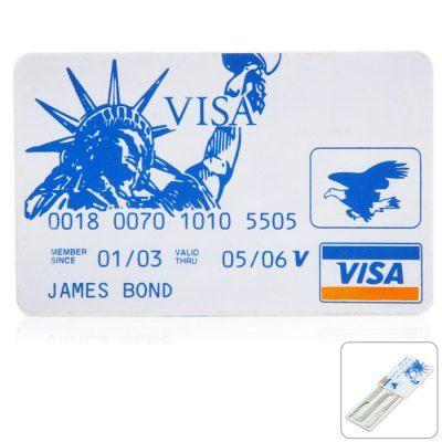 Credit Card Lock Pick Set #jewelry, #women, #men, #hats, #watches, #belts
