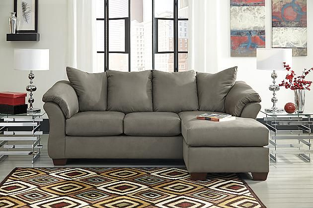 Cobblestone Darcy Sofa Chaise Ashley Home Furniture On Sale: $595  Https://www