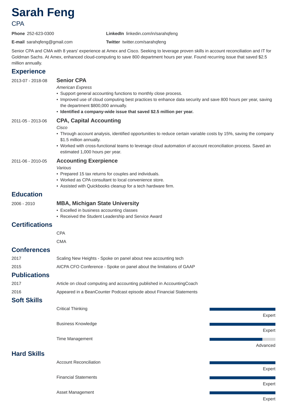 accounting resume template minimo in 2020 Teacher resume