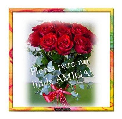 Rosas Para Una Amiga En Su Cumpleaños Bonito Rosas Para