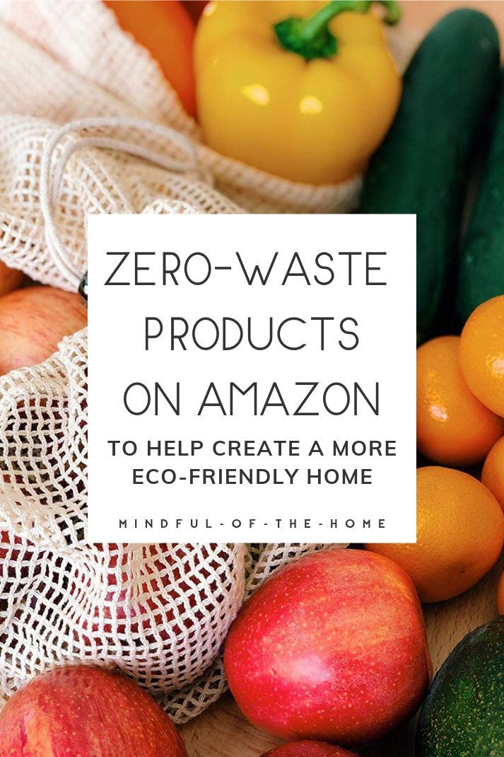 Check out these zero-waste products on Amazon to help get you started with a zero-waste lifestyle. These products will help reduce your waste and create a more eco-friendly home! #zerowaste #goingzerowaste #zerowasteliving #sustainableliving #sustainability #ecofriendly #mindfulofthehome