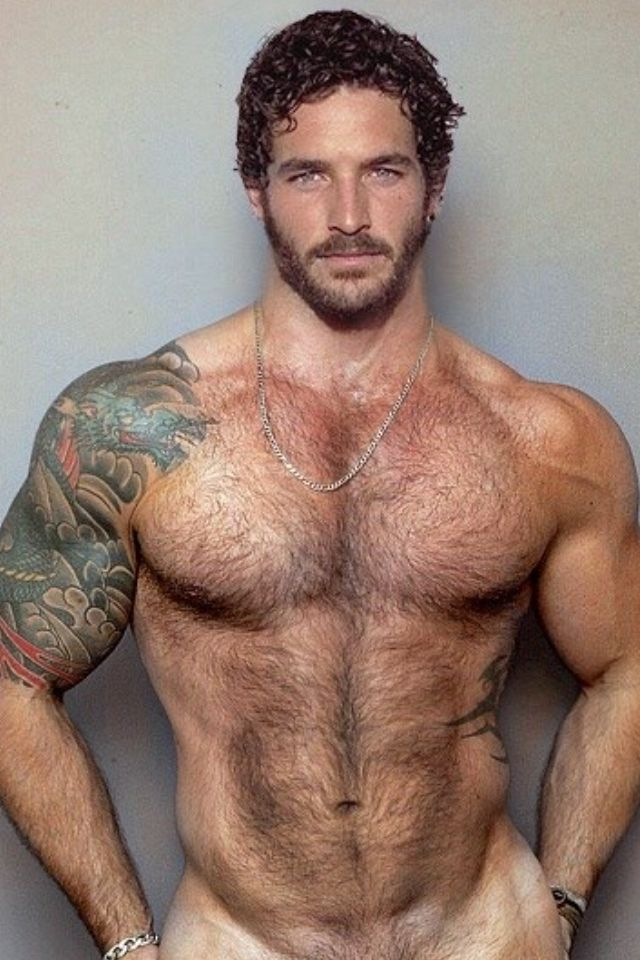 Hot hairy muscle gay
