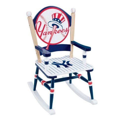 Guidecraft G11113 Mlb Yankees Rocking Chair Great For