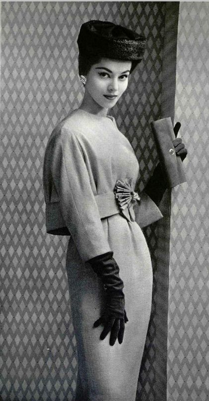 tammy17tummy: Lanvin, 1957