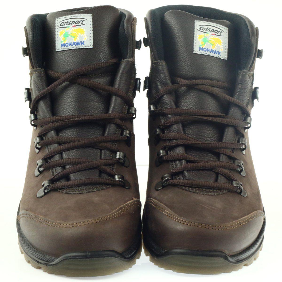 Grisport Brazowe Buty Trekkingowe Hiking Boots Shoes Boots