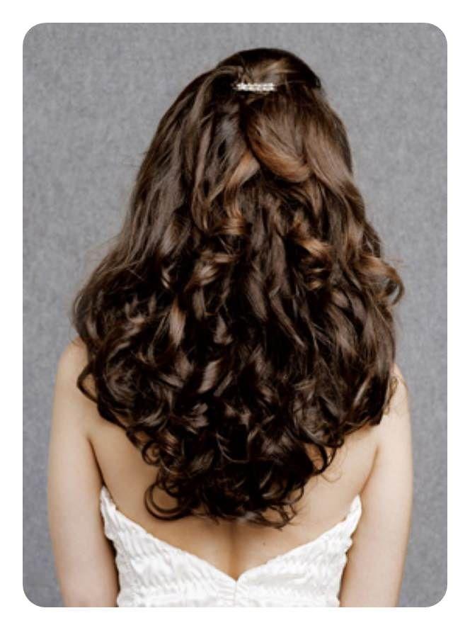 10 Peinados con rizos