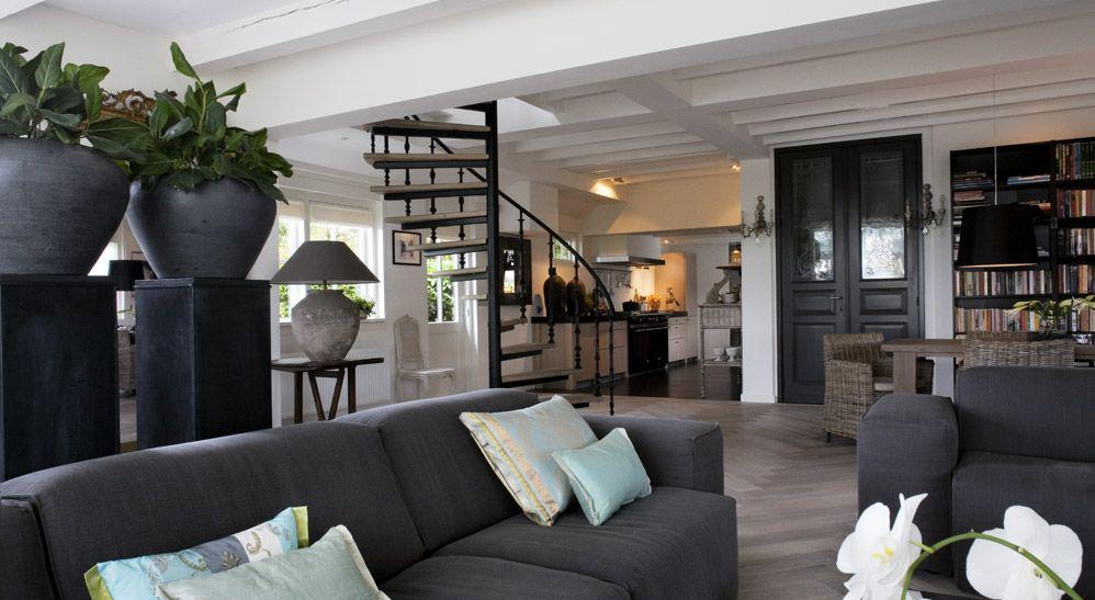 mooie kleuren in de woonkamer - Living & Dining Room | Pinterest ...
