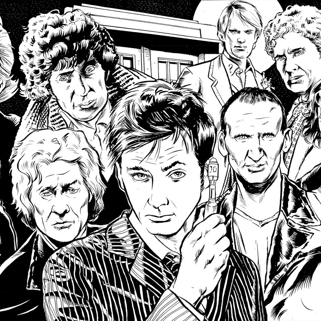 Doctor Who Ipad 1 2 Wallpaper Doctor Who Fan Art Doctor Who Art Fantastic Cities Coloring Book