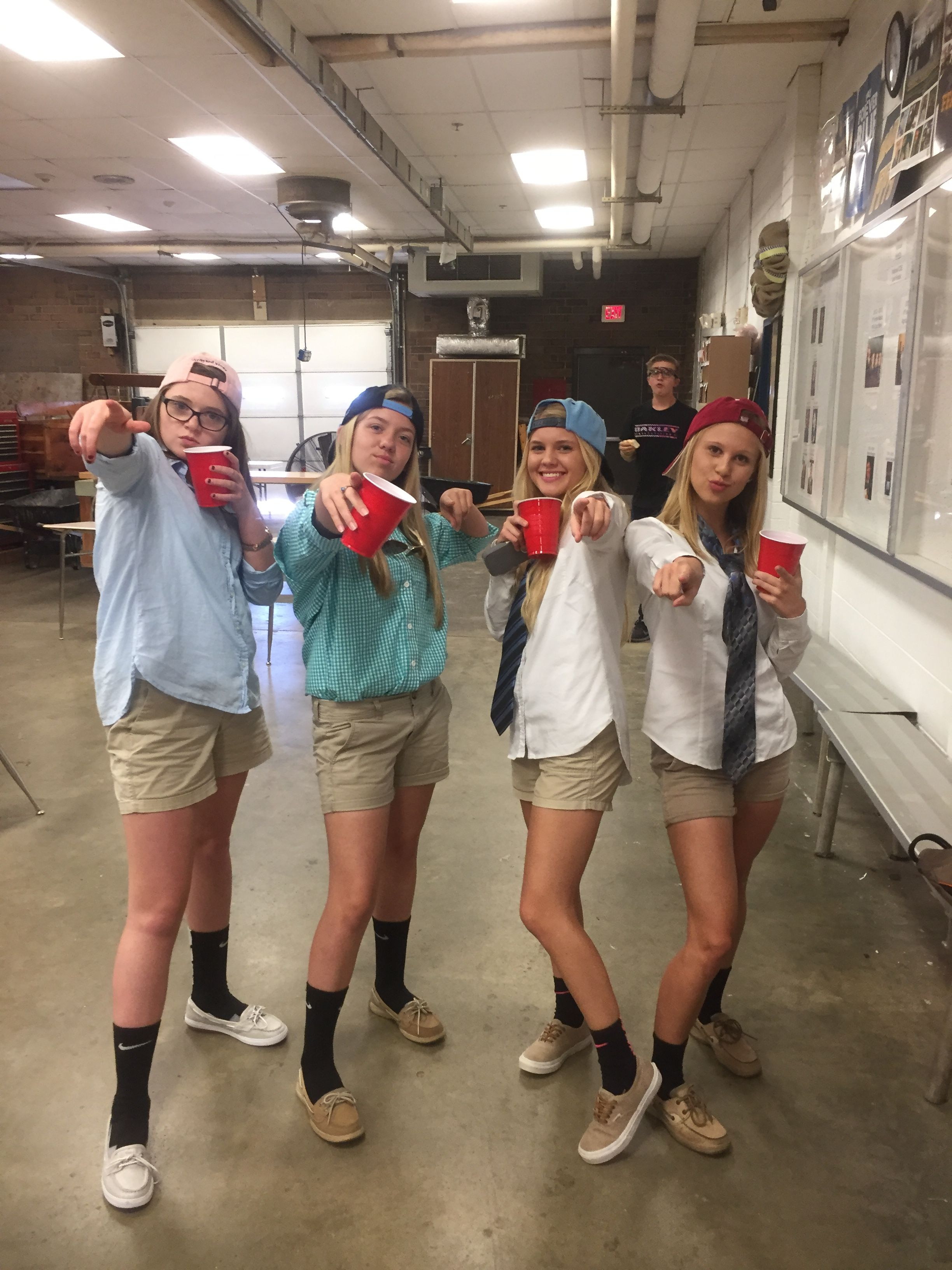 frat boys group costume (halloween college boy) | homecoming in 2018