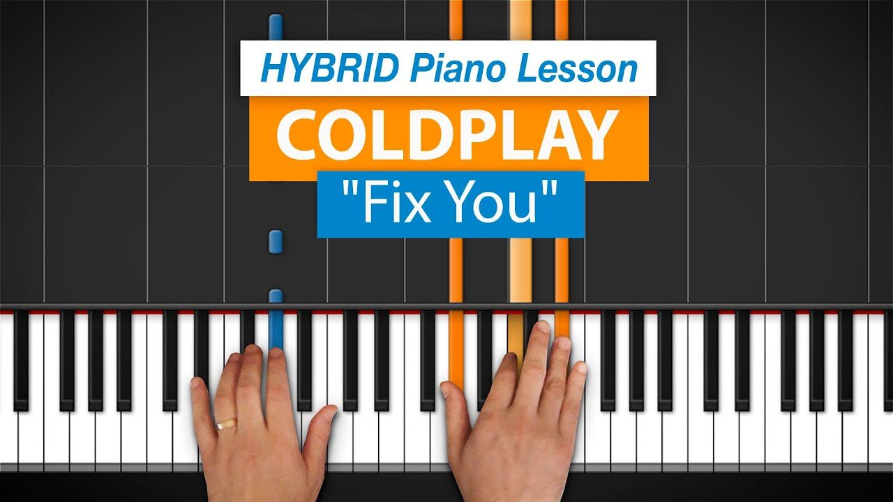 How To Play Fix You By Coldplay Hdpiano Part 1 Piano