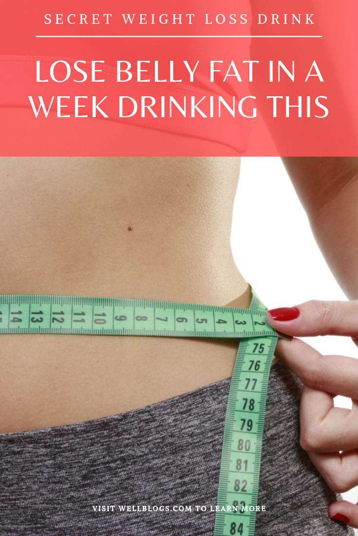 How To Lose Belly Fat In A Week Drinking This As This Drink Is Very