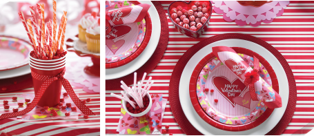 Valentine's Day Party Ideas  Super cute just might have to for my bunco girls!
