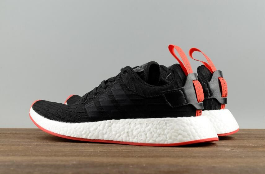 8084161489e5 Adidas Originals NMD R2 PK Black Red BA7252 Men Running Shoes9 ...