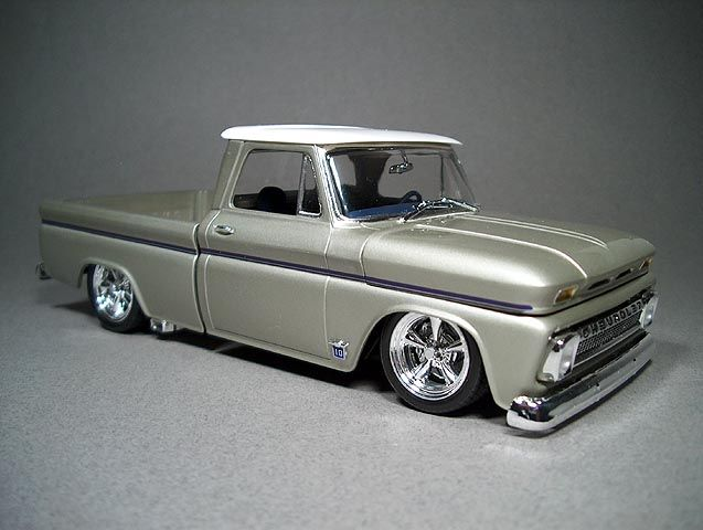 1964 Chevy Pickup Truck Looking Beautiful In Silver Classic