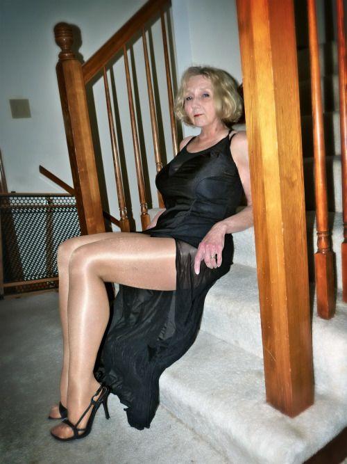 Pin By Randall On Rrt Women Granny Mom Stockings Legs