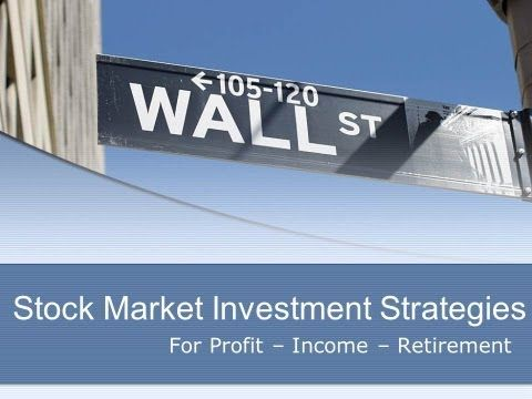 investment stock market strategies tool for profit income