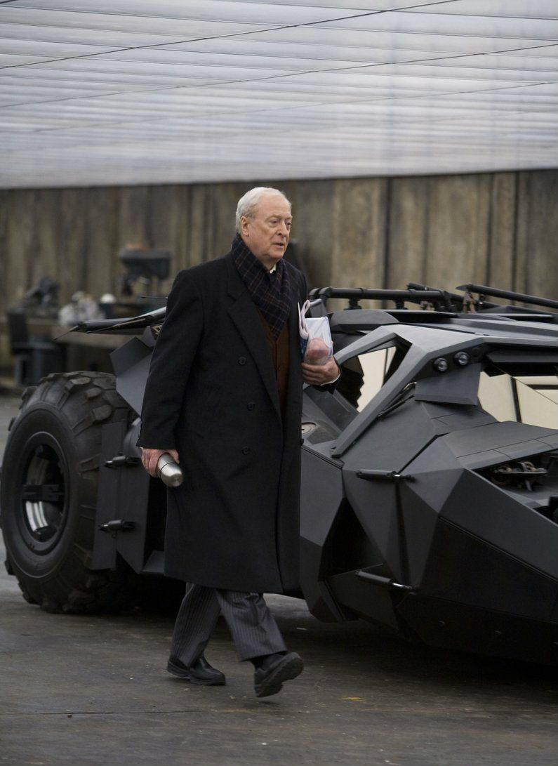Alfred Pennyworth - The Dark Knight trilogy (here played by Michael Caine)