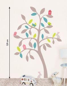 Sticker Für Kinderzimmer | Details Zu Kinder Wandtattoo Bunter Baum Wandsticker Sticker