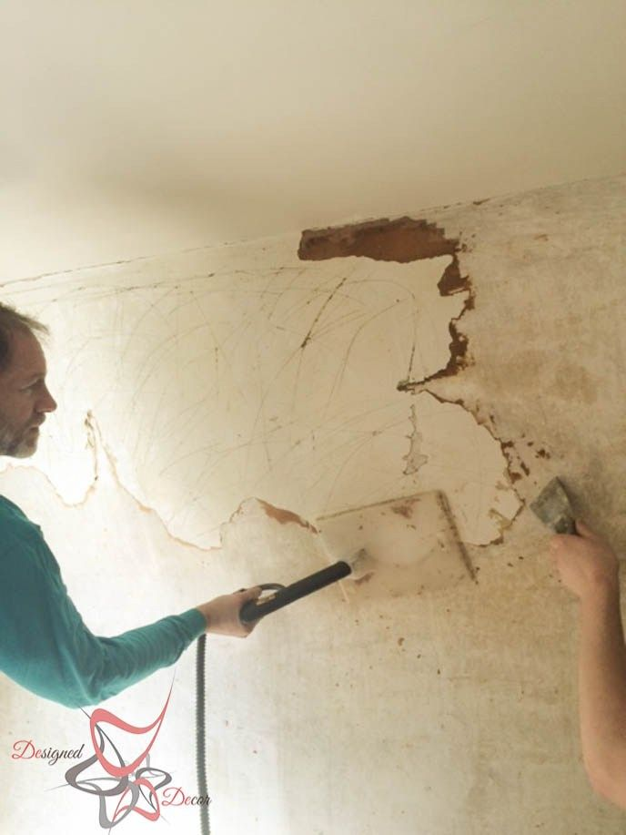 Simple Way To Remove Wallpaper Designed Decor Removable Wallpaper Removing Old Wallpaper Easy To Remove Wallpaper