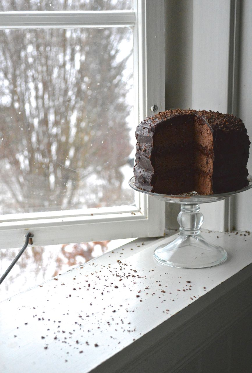 Gluten Free Vegan Devils Food Cake | Devils food cake ...