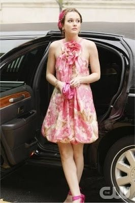 what a cute dress worn by blaire waldorf