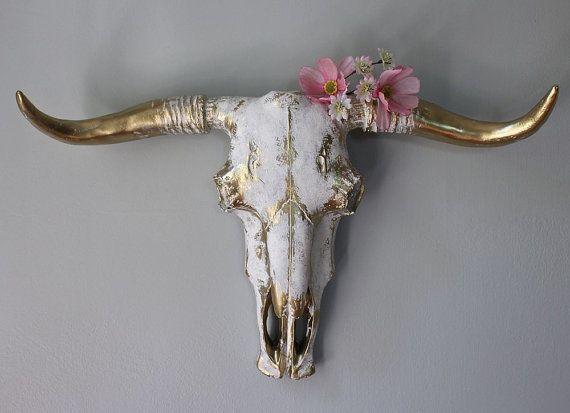 Dieser Hubsche Stier Ist Perfekt Fur Die Westlichen Boho Gal Es