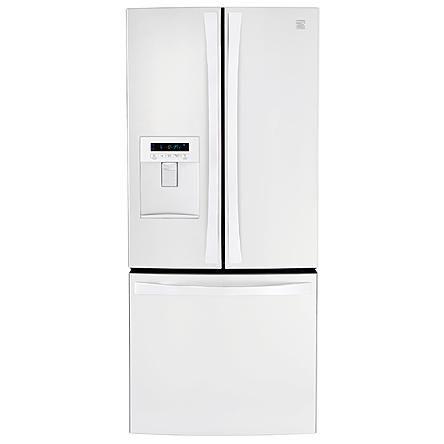 Kenmore Elite 21 6 Cu Ft French Door Bottom Freezer Refrigerat