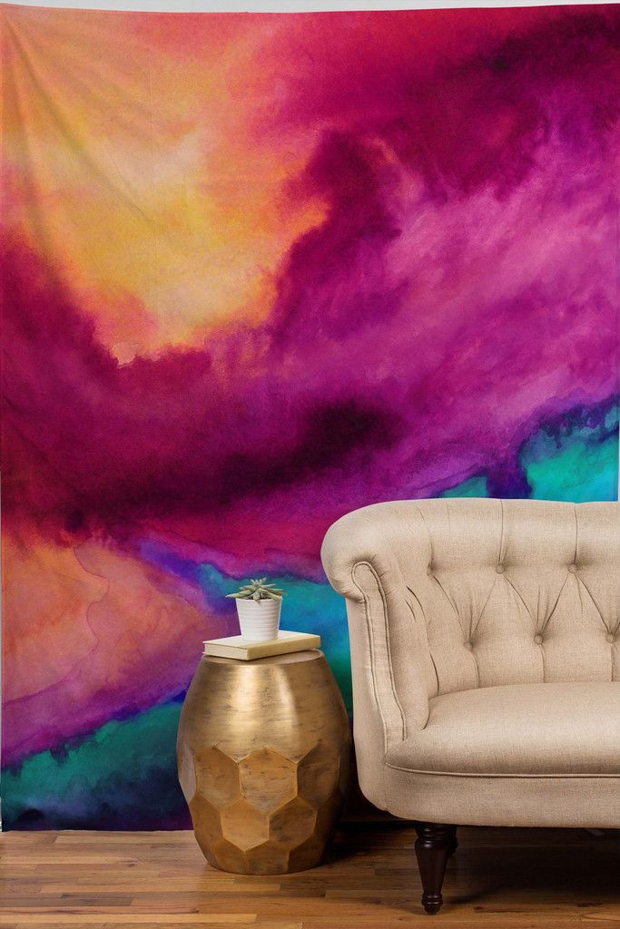 This Cool Tie Dye Tapestry Gives Instant Style Points To Any Room