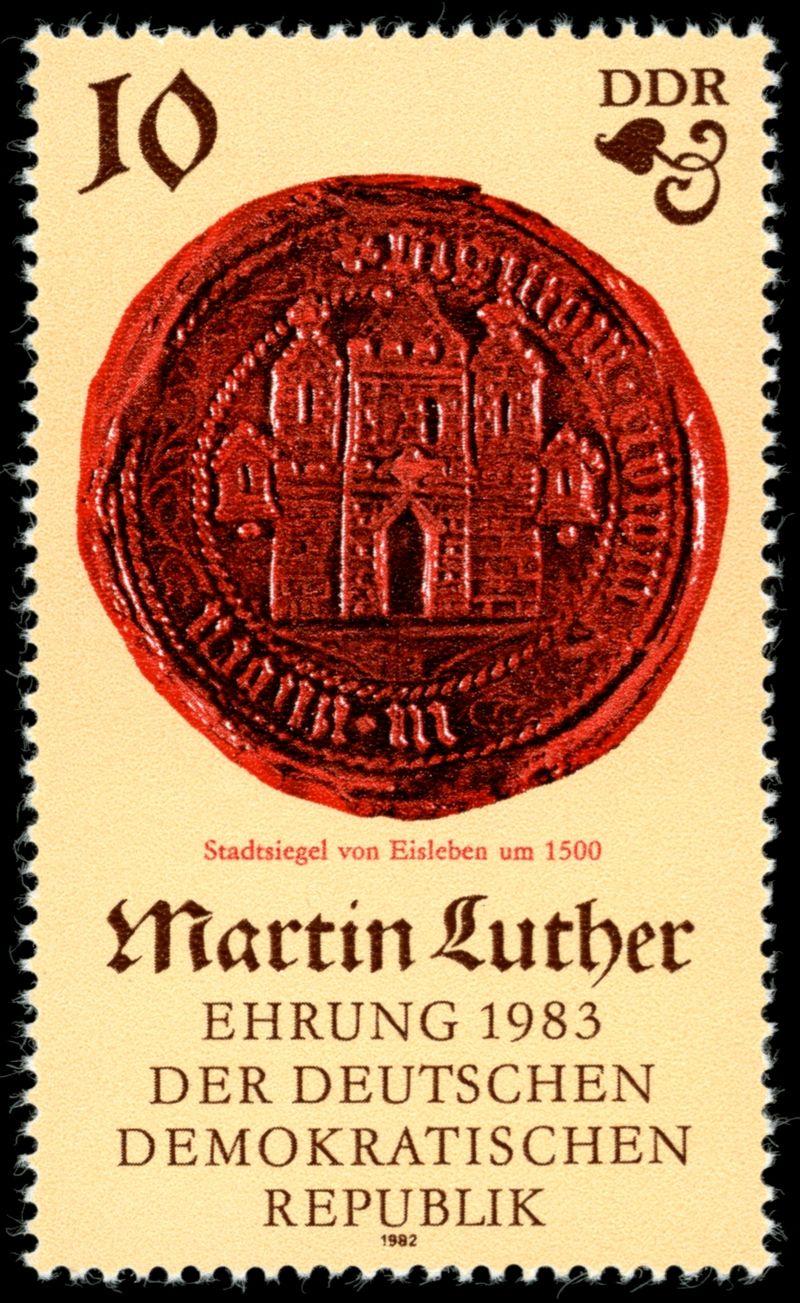 Briefmarken 1982 der Deutschen Post der DDR 500