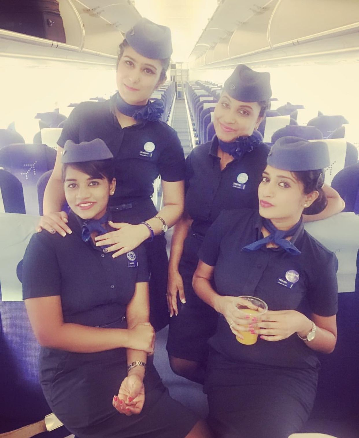 Indigo Cabin Crew Uniform