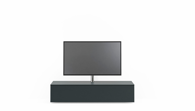 Lowboard wahlweise mit tv halterung »select« schwarz breite 160 cm